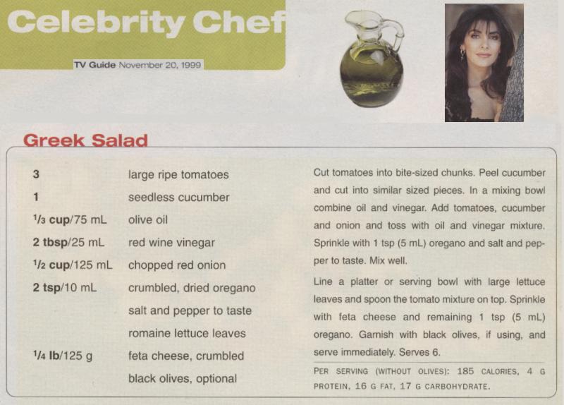 Marina's Greek Salad